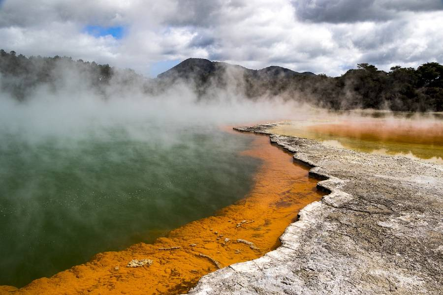 Wai-o-tapu - Tourist Attractions In New Zealand